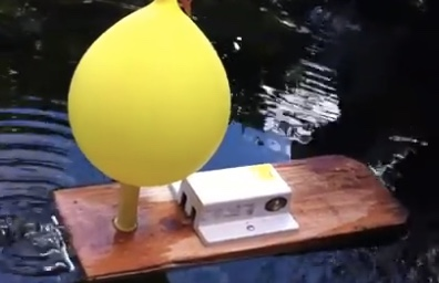 balloon-boat