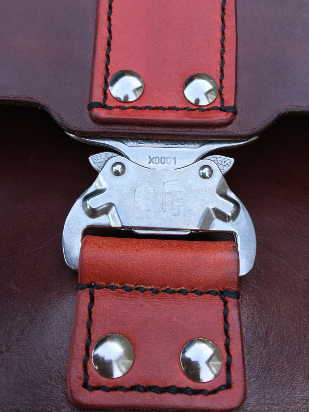 Cobra Buckle Detail