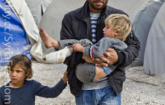 Syrian refugees, 2015