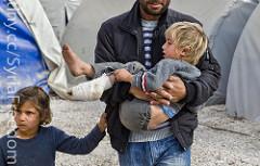 Syrian refugees, 2015